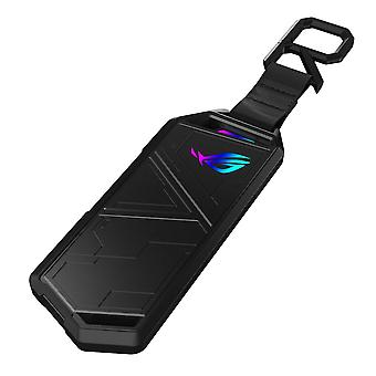 Asus ROG STRIX ARION M.2 NVMe SSD Enclosure, USB 3.2 Gen2, Aluminium, Thermal Pads, RGB Lighting