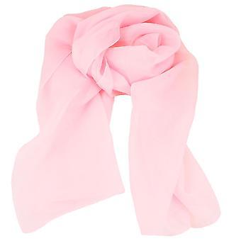 Krawatten Planet Plain Baby rosa Chiffon Schal