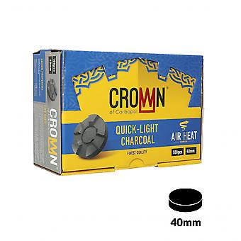 Carbopol Crown Coals 40mm Cutie de 100