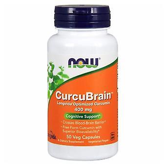 Agora Foods CurcuBrain, 400 mgs, 50 Vcaps