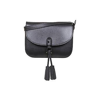 Furla Baeqacoare0000o6000 Women's Black Leather Shoulder Bag