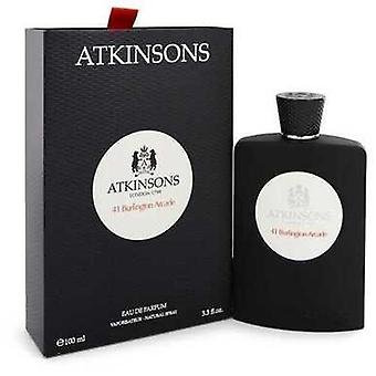 41 Burlington Arcade By Atkinsons Eau De Parfum Spray (unisex) 3.3 Oz (women) V728-548884