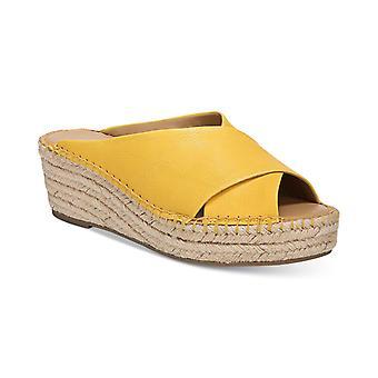 Franco Sarto mulheres L-Polina tecido peep toe casual sandálias plataforma