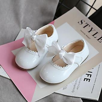 Baby schattige zachte lederen schoenen, platte sneakers schoen