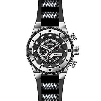 Invicta S1 Rally 24221 silikoni, ruostumattomasta teräksestä Chronograph Watch