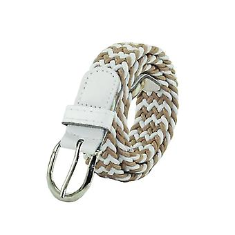 Children's Narrow Version Elastic Belt, Student's Needle Buckle And Braided