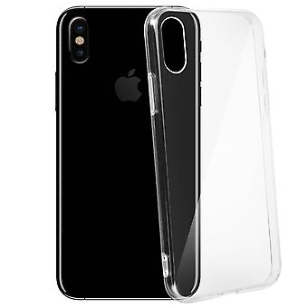 Crystal clear case for Apple iPhone X, Ultra Clear design – Akashi
