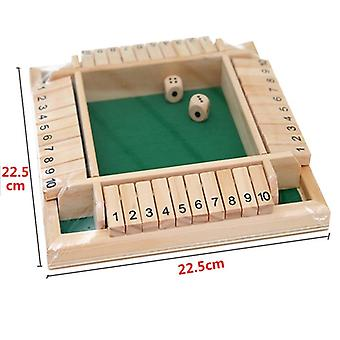 Four-sided Flop Game Digital Game Toys Parent-child Board Game For Children