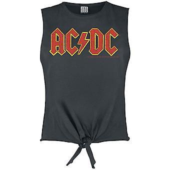 Amplified ACDC Logo Sleeveless Women's T-Shirt