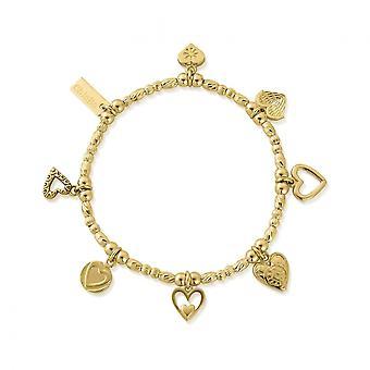 ChloBo Gold Ideal Love Bracelet GBMULC7
