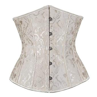 Sexy Corset Underbust Waist Gothic Top Bustier Plus Taille