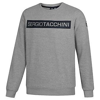 Sergio Tacchini Cozie Mens Sweatshirt Casual Graphic Branded Jumper 38157 912