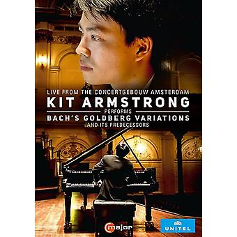 Kit Armstrong Performs Bach's Goldberg Variations [DVD] USA import