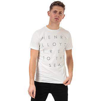 T-shirt en jersey imprimé Henri Lloyd en blanc pour homme et apos;s