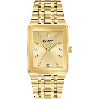 Bulova 97D120 גוון זהב שעון יד אוסף מודרני