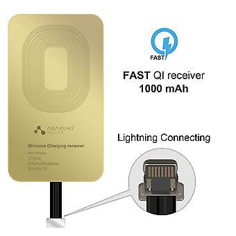 Ricevitore di ricarica wireless Asakuki, patch a bobina di rame ultrasottile con protezione da sovratensione per qi