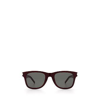 Saint Laurent SL 51-B SLIM Burgunder unisex Sonnenbrille