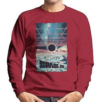 Space 1999 Black Sun Men's Sweatshirt