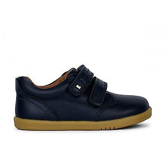 BOBUX Double Velcro Iw Port Dress Shoe Navy Blue
