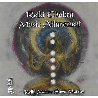 Reiki Chakra Music Attunement CD by Reiki Master Steve Murray