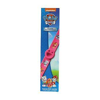 Anti-Mosquito Pink Bracelet Citronella Paw Patrol 1 unit