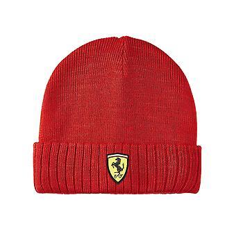 Scuderia Ferrari gorro de punto     rojo   adultos 2021