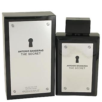 De geheime Eau De Toilette Spray door Antonio Banderas 6,7 oz Eau De Toilette Spray