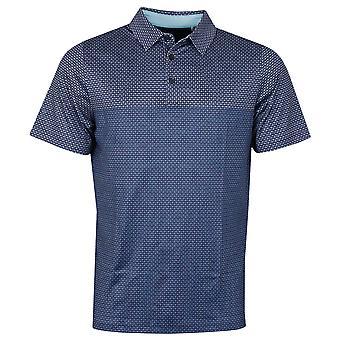 Callaway Golf Homme 2021 Mini Imprimé Chev Stretch Opti-Dri Wicking Polo Shirt