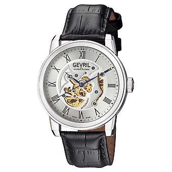 Gevril Vanderbilt Automatic Silver Dial Men's Watch 2690