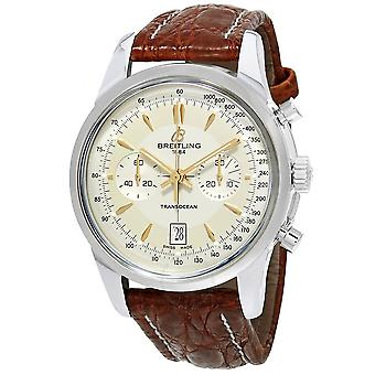 Breitling Transocean Mercury Automatic Men's Limited Edition Watch AB015412/G784BRCT