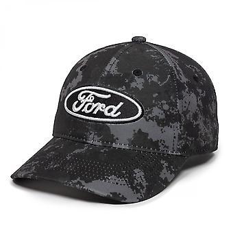 פורד מוטור החברה לוגו כהה הסוואה כובע מתכוונן