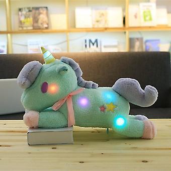 55cm Gleamy Plush Unicorn Pillow