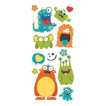 Paper House Productions - Puffy Stickers - Monsters
