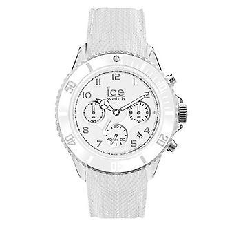 Ice-Watch ICE Dune White - Miesten valkoinen kello silikonihihnalla - Chrono - 014217 - 44 mm