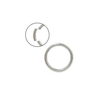 Seamless piercing segment ring - 14g/16g - lip, nose, septum, ear, eyebrow