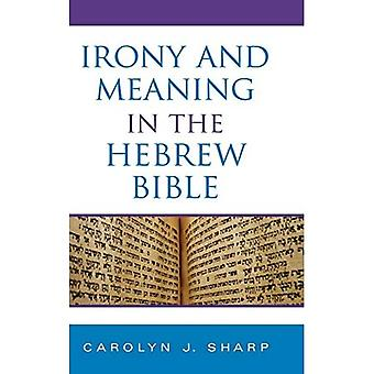 Irony and Meaning in the Hebrew Bible (Indiana Studies in Biblical Literature)