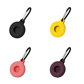 4Pcs for airtags silicone protective case anti lost keychain ac46