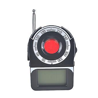 Bezdrátový detektor signálu LED displej chyba GPS Radar Radio Scanner Finder Wireless Signal Alarm Device Finder (černá)