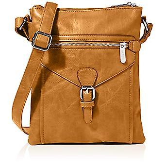 Bessie London, Women's Crossbody Handbag, Chestnut, ONE SIZE