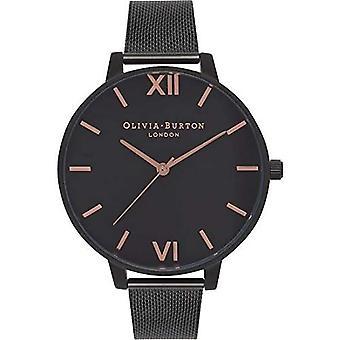 Olivia Burton Analog Quartz Watch Woman with Stainless Steel Strap OB15BD83