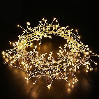 Luce stringa impermeabile esterna, luce fata petardo a led