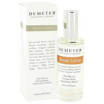 Demeter Suntan lotion av Demeter Cologne spray 4 oz (damer) V728-448947