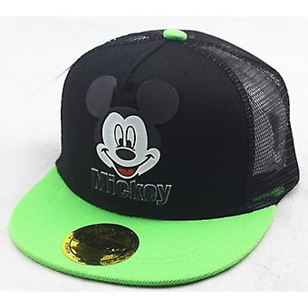 Children's Cartoon Mickey Mouse Mesh Student Casual Hat