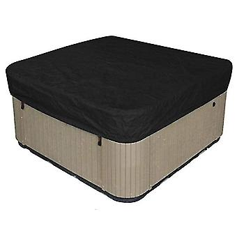 231*231*30Cm black waterproof polyester square hot tub cover outdoor spa covers square hot tub cover x49