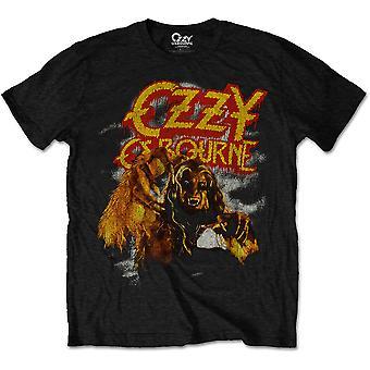 Ozzy Osbourne - Vintage Werewolf Men's Large T-Shirt - Black
