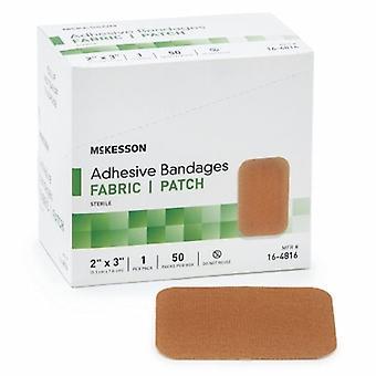 McKesson Adhesive Strip, 2 X 3 Pollici, Tan, 50 Count