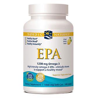 Nordic Naturals EPA, 1000 mg, 60 softgels