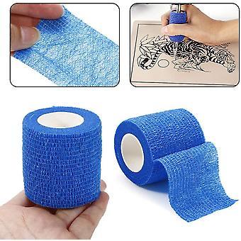 Blue Tattoo Grip Bandage Cover