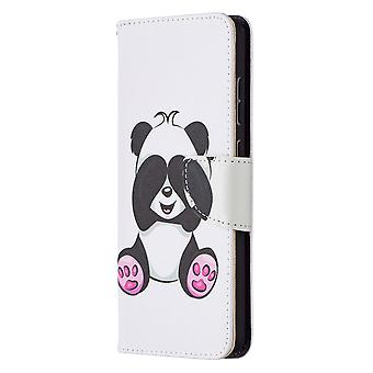 Samsung Galaxy A72 5g/4g Case Pattern Magnetic Protective Cover Panda