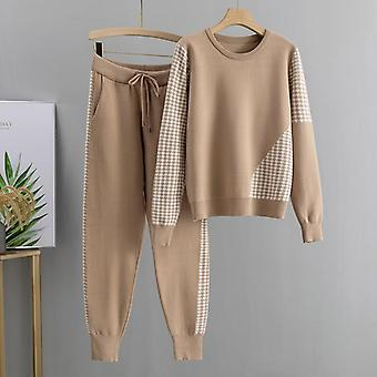 Fall Winter Pullover Sweater + Carrot Harem Pants